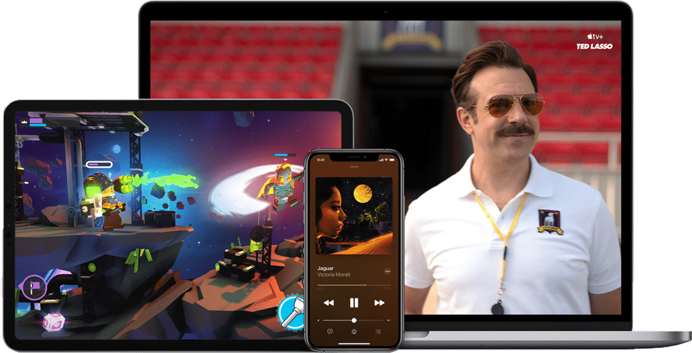 Jeu vidéo mais aussi musique, films, séries, stockage en ligne... Apple One fait tout !