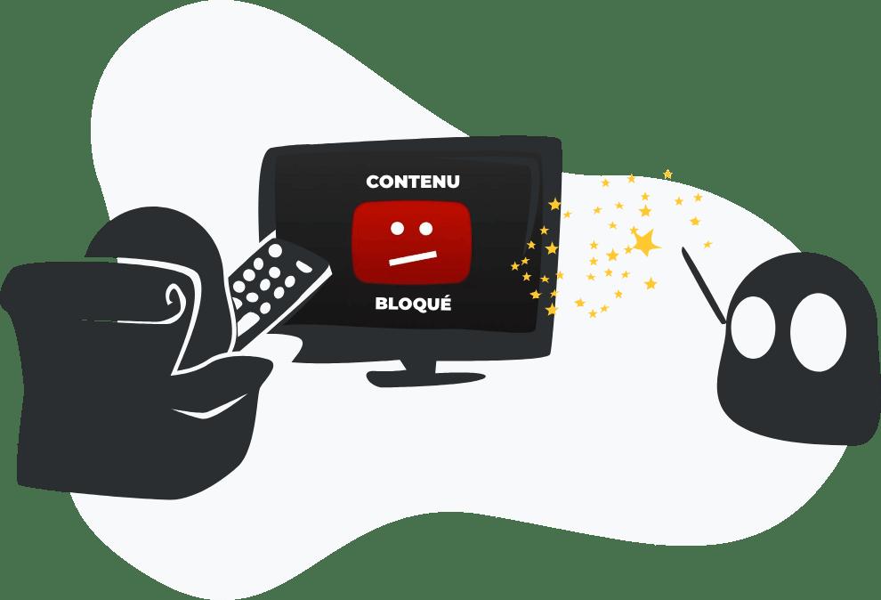 Envie de regarder des contenus bloqués ? CyberGhost a une solution !