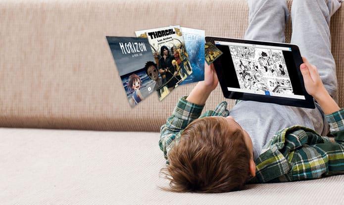 Izneo propose une formule familiale idéale pour les enfants qui aiment pratiquer la lecture