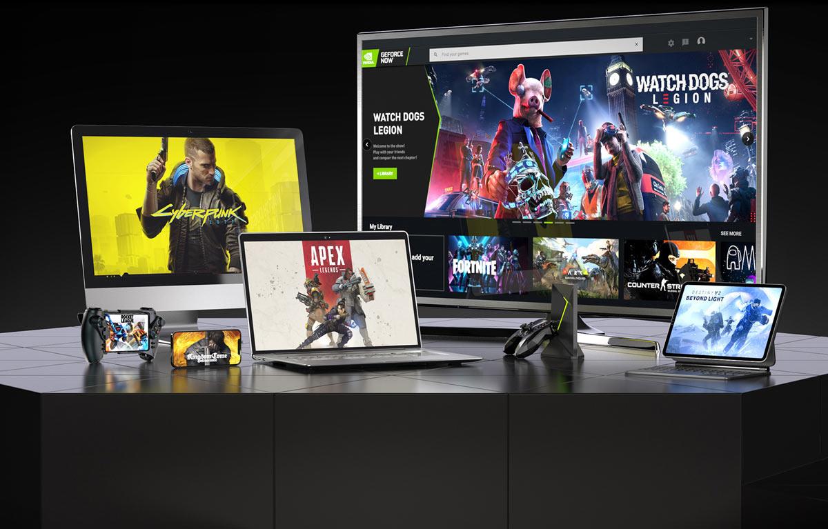 Le service de Cloud Gaming est accessible depuis de multiples périphériques